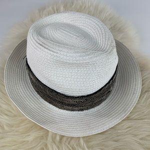Bebe White Sun Hat